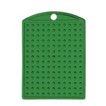 Kulcstartó alaplap - zöld