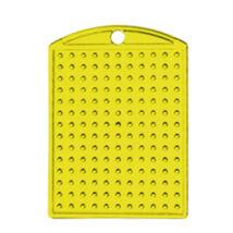Kulcstartó alaplap - sárga