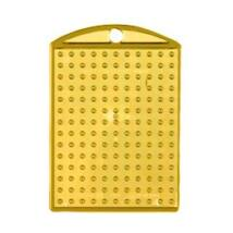 Kulcstartó alaplap - átlátszó sárga