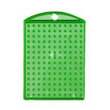 Kulcstartó alaplap - átlátszó zöld
