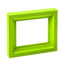 Műanyag képkeret - lime zöld