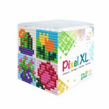 Pixel XL szett - Virágok (6x 6 cm)
