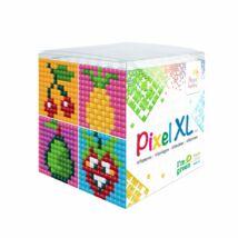 Pixel XL szett - Gyümölcsök (6x 6 cm)