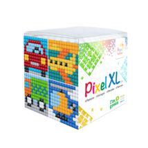 Pixel XL szett - Járművek (6x 6 cm)