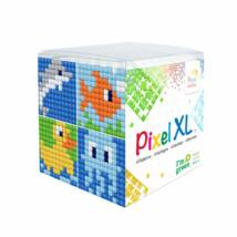 Pixel XL szett - Vízi élőlények (6x 6 cm)