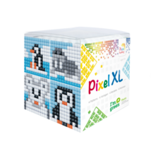 Pixel XL szett - Pingvin (6x 6 cm)