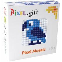Mini Pixel XL szett - Papagáj (6x 6 cm)