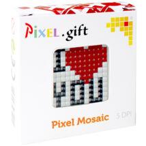 Mini Pixel XL szett - I love you (6x 6 cm)
