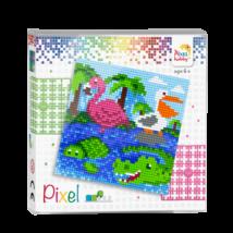 Pixel szett 4 alaplapos - vízi állatok