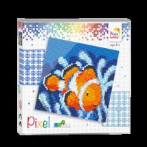 Pixel szett 4 alaplapos - Bohóchal