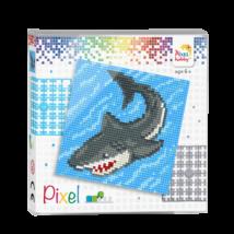 Pixel szett 4 alaplapos - cápa