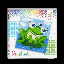 Pixel szett 4 alaplapos - béka