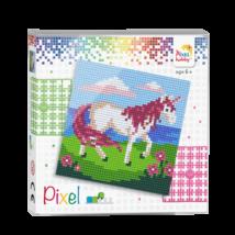 Pixel szett 4 alaplapos - Unikornis