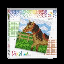 Pixel szett 4 alaplapos - Ló