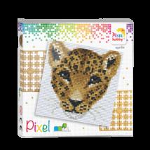 Pixel szett 4 alaplapos - Leopárd