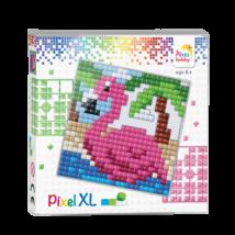 Pixel XL szett - Flamingó (12x 12 cm)