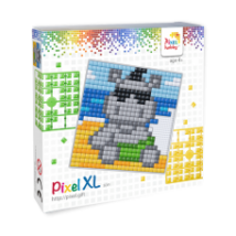 Pixel XL szett - Viziló (12x 12 cm)