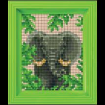 Pixel készlet - Elefánt (dzsungel)