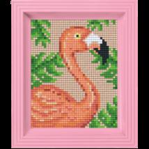 Pixel készlet - FLAMINGÓ (dzsungel)