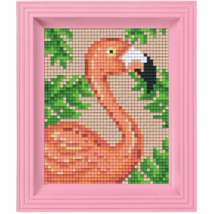 Pixel készlet - Flamingo (dzsungel)