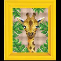 Pixel készlet - Zsiráf (dzsungel)