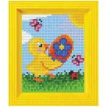 Pixel készlet - Csibe tojással