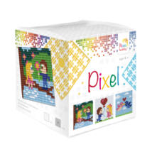 Pixel Kocka - Valentin