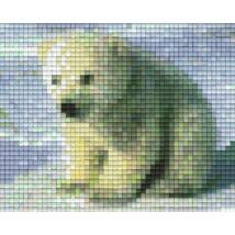 Pixelhobby minta - jegesmedve