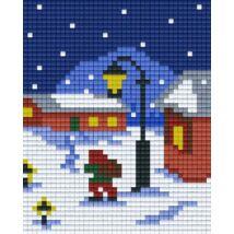 Karácsonyi ajándékok (10,1x12,7cm)