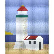 Világító torony 1 (10,1x12,7cm)