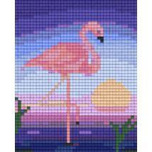 Flamingók 1 (10,1x12,7cm)