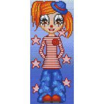 Marilyn bohóc (12,7x30,5cm)