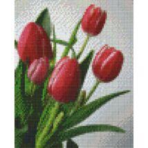 Rózsaszín tulipán (20,3x25,4cm)
