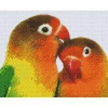 Két papagáj (25,4x20,3cm)