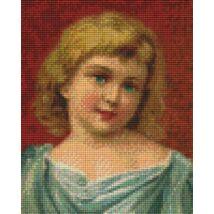 Édes kislány (20,3x25,4cm)