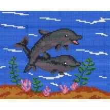 Delfin 3 (25,4x20,3cm)