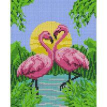 Flamingók 2 (20,3x25,4cm)