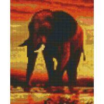 Elefánt 1 (20,3x25,4cm)