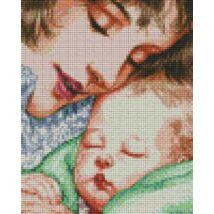 Anya és gyermeke 1 (20,3x25,4cm)