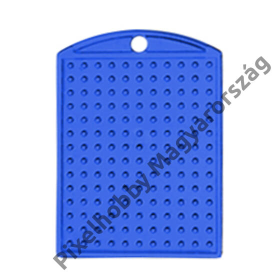 Kulcstartó alaplap - kék