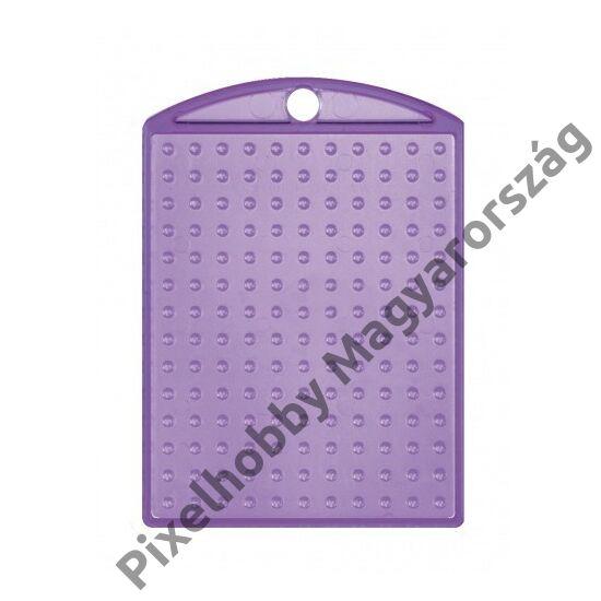Kulcstartó alaplap - átlátszó lila