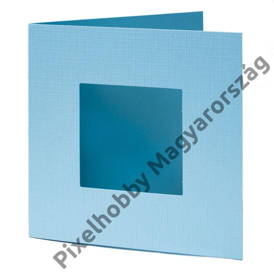Díszkártya - kék