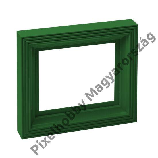 Műanyag képkeret - sötét zöld