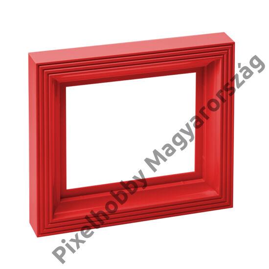 Műanyag képkeret - piros
