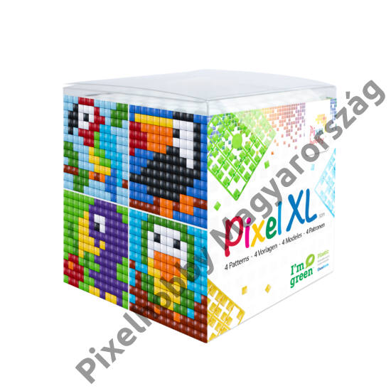 Pixel XL szett - Madarak (6x 6 cm)