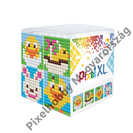 Pixel XL szett - Húsvét (6x 6 cm)