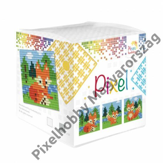Pixel Kocka - Róka