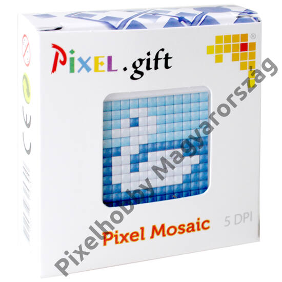 Mini Pixel XL szett - Hattyú (6x 6 cm)