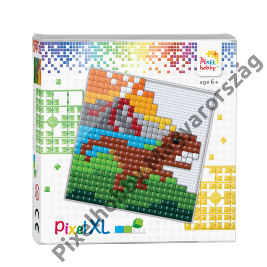 Pixel XL szett - Dinoszaurusz (12x 12 cm)