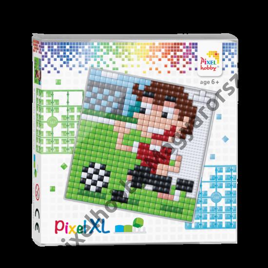 Pixel XL szett - Focis (12x 12 cm)